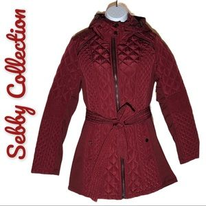 Sebby Quilted Trench Lightweight Jacket